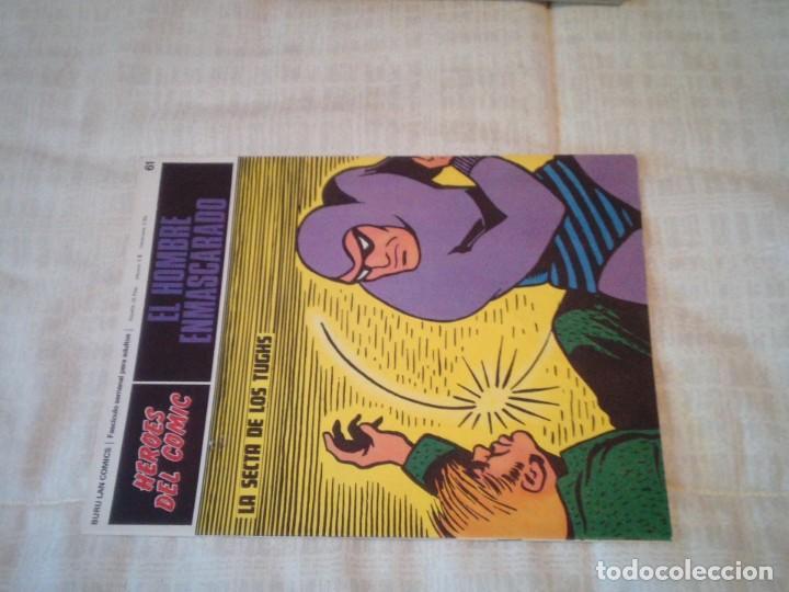 Cómics: EL HOMBRE ENMASCARADO - BURU LAN - 96 FASCICULOS - MUY BUEN ESTADO - COMPLETA - GORBAUD - Foto 66 - 209029080