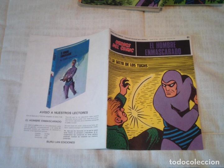 Cómics: EL HOMBRE ENMASCARADO - BURU LAN - 96 FASCICULOS - MUY BUEN ESTADO - COMPLETA - GORBAUD - Foto 69 - 209029080