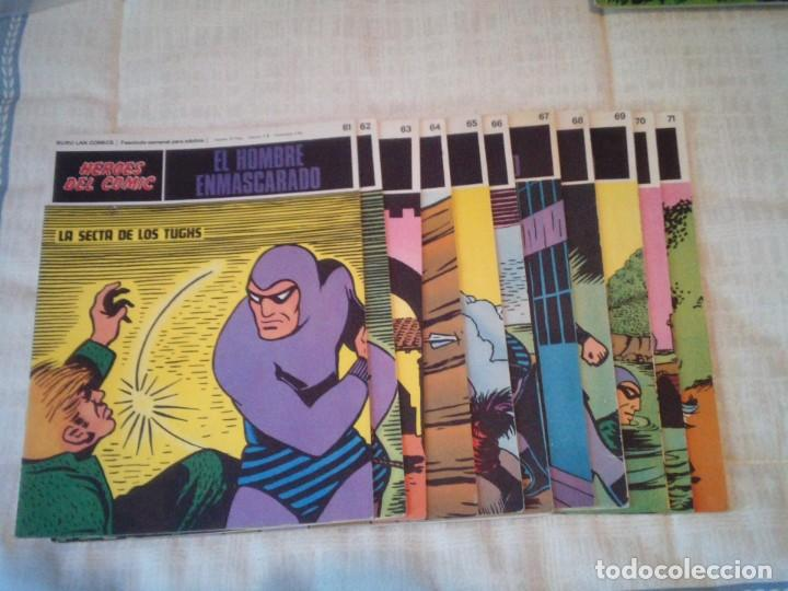 Cómics: EL HOMBRE ENMASCARADO - BURU LAN - 96 FASCICULOS - MUY BUEN ESTADO - COMPLETA - GORBAUD - Foto 70 - 209029080