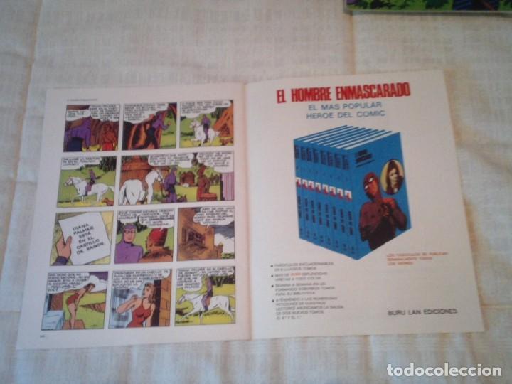 Cómics: EL HOMBRE ENMASCARADO - BURU LAN - 96 FASCICULOS - MUY BUEN ESTADO - COMPLETA - GORBAUD - Foto 73 - 209029080