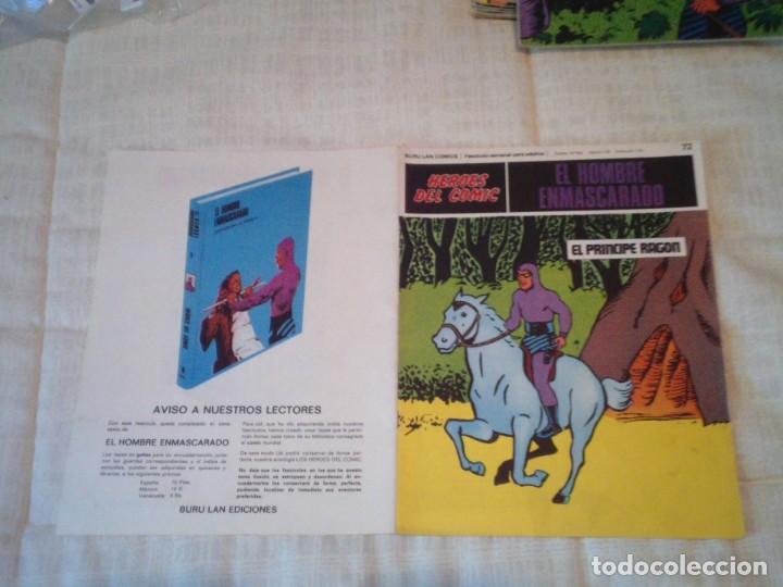 Cómics: EL HOMBRE ENMASCARADO - BURU LAN - 96 FASCICULOS - MUY BUEN ESTADO - COMPLETA - GORBAUD - Foto 74 - 209029080