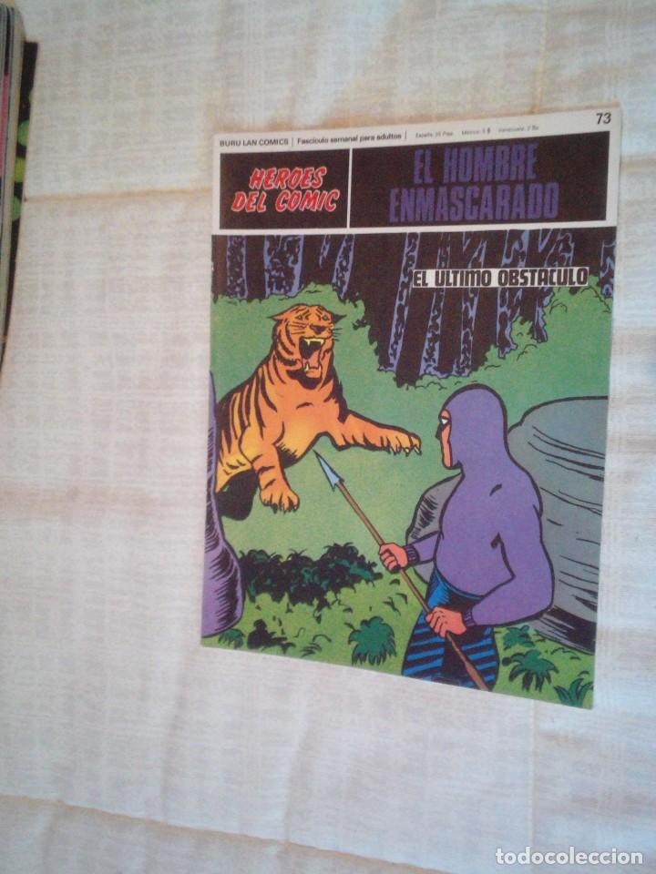 Cómics: EL HOMBRE ENMASCARADO - BURU LAN - 96 FASCICULOS - MUY BUEN ESTADO - COMPLETA - GORBAUD - Foto 75 - 209029080
