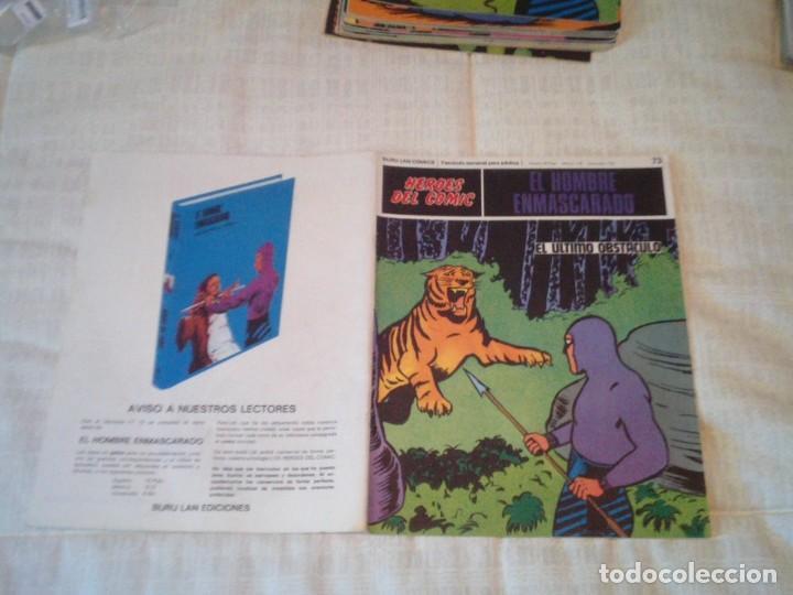 Cómics: EL HOMBRE ENMASCARADO - BURU LAN - 96 FASCICULOS - MUY BUEN ESTADO - COMPLETA - GORBAUD - Foto 78 - 209029080