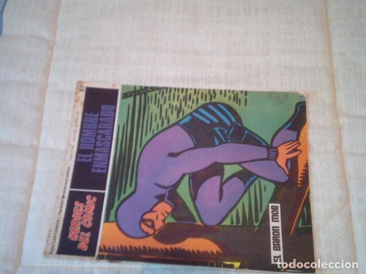 Cómics: EL HOMBRE ENMASCARADO - BURU LAN - 96 FASCICULOS - MUY BUEN ESTADO - COMPLETA - GORBAUD - Foto 80 - 209029080