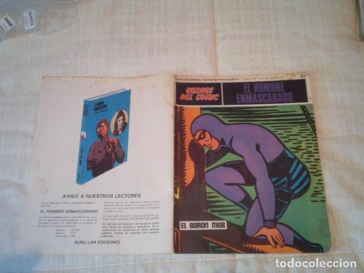 Cómics: EL HOMBRE ENMASCARADO - BURU LAN - 96 FASCICULOS - MUY BUEN ESTADO - COMPLETA - GORBAUD - Foto 84 - 209029080