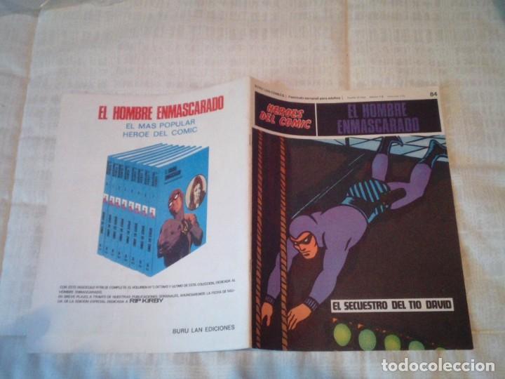 Cómics: EL HOMBRE ENMASCARADO - BURU LAN - 96 FASCICULOS - MUY BUEN ESTADO - COMPLETA - GORBAUD - Foto 88 - 209029080