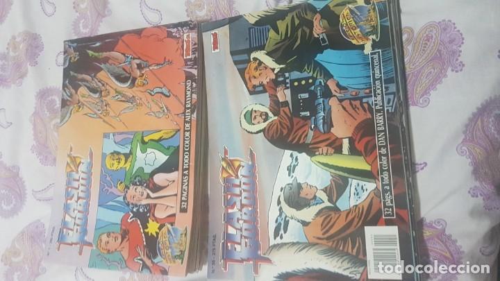 Cómics: Flash gordon ejemplares del 1 al 18 y del 55 al 67 .buen estado lote - Foto 2 - 209039546