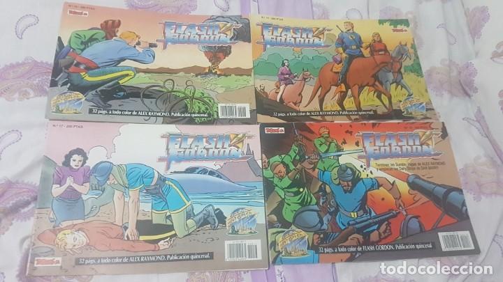 Cómics: Flash gordon ejemplares del 1 al 18 y del 55 al 67 .buen estado lote - Foto 5 - 209039546