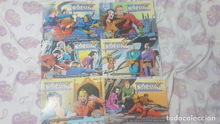 Cómics: Flash gordon ejemplares del 1 al 18 y del 55 al 67 .buen estado lote - Foto 6 - 209039546
