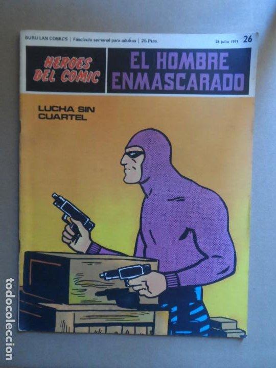 EL HOMBRE ENMASCARADO BURU LAN BURULAN Nº 26 1972 (Tebeos y Comics - Buru-Lan - Hombre Enmascarado)