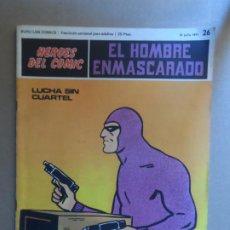 Cómics: EL HOMBRE ENMASCARADO BURU LAN BURULAN Nº 26 1972. Lote 209358946