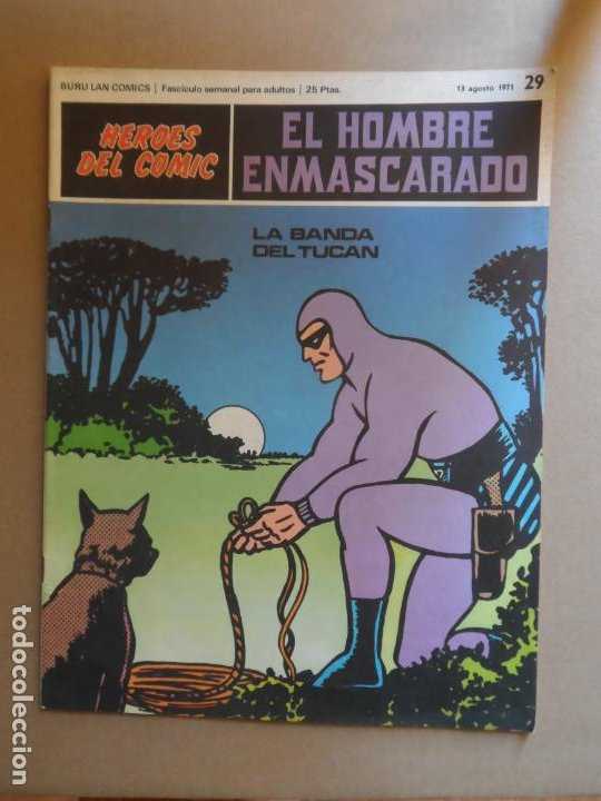 EL HOMBRE ENMASCARADO BURU LAN BURULAN Nº 29 1972 (Tebeos y Comics - Buru-Lan - Hombre Enmascarado)