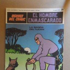 Cómics: EL HOMBRE ENMASCARADO BURU LAN BURULAN Nº 29 1972. Lote 209359070