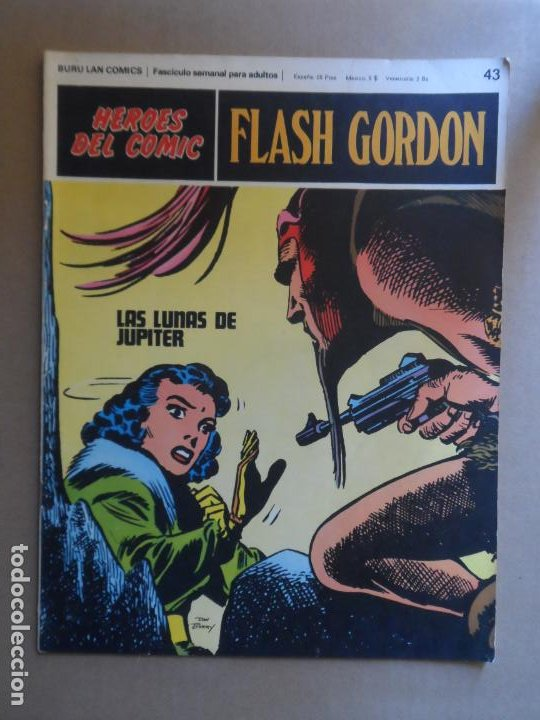 FLASH GORDON BURU LAN BURULAN Nº 43 1972 (Tebeos y Comics - Buru-Lan - Flash Gordon)