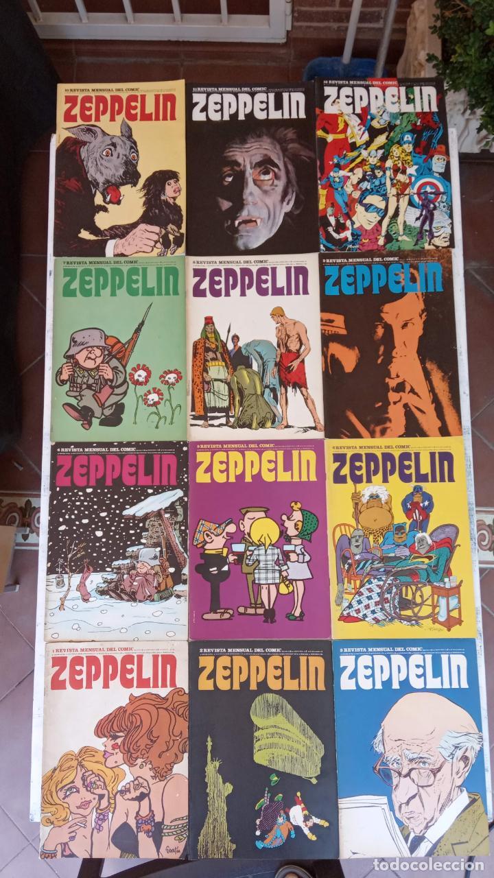 ZEPPELING COMPLETA 1 AL 12 SUELTOS Y BUEN ESTADO, VER TODAS LAS PORTADAS (Tebeos y Comics - Buru-Lan - Otros)