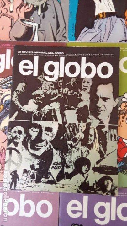 Cómics: EL GLOBO COLECCIÓN COMPLETA Y SUELTA 1 AL 21 - BURULAN - BURU LAN MUY BUEN ESTADO, VER FOTOS - Foto 4 - 209611078
