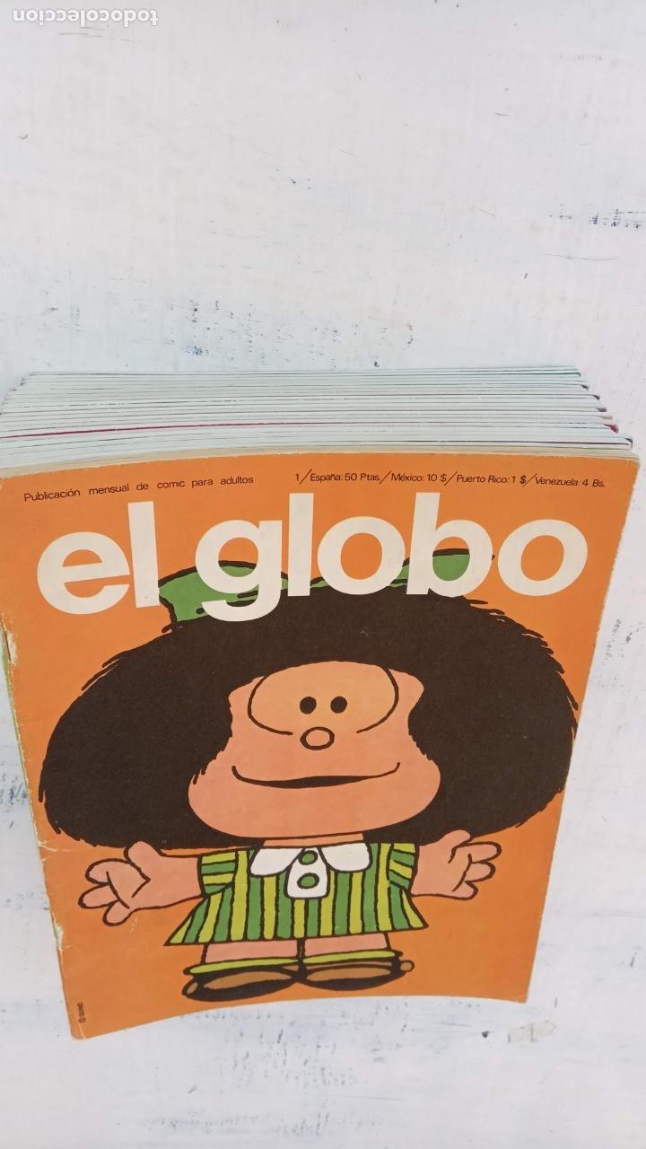Cómics: EL GLOBO COLECCIÓN COMPLETA Y SUELTA 1 AL 21 - BURULAN - BURU LAN MUY BUEN ESTADO, VER FOTOS - Foto 5 - 209611078