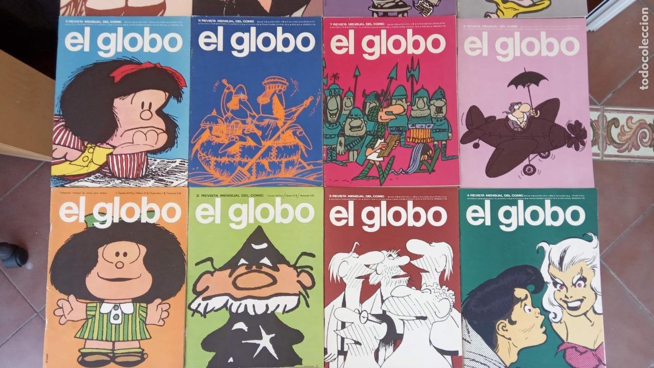 Cómics: EL GLOBO COLECCIÓN COMPLETA Y SUELTA 1 AL 21 - BURULAN - BURU LAN MUY BUEN ESTADO, VER FOTOS - Foto 8 - 209611078