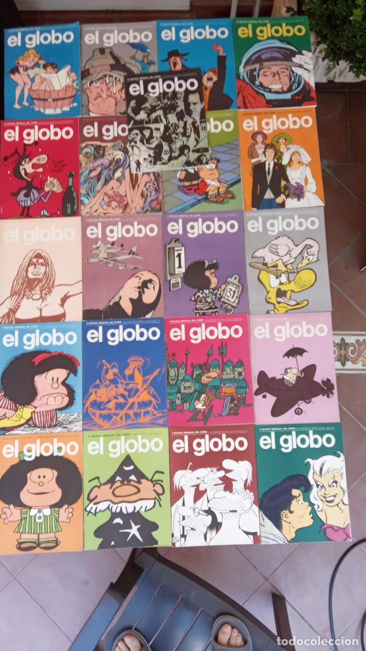EL GLOBO COLECCIÓN COMPLETA Y SUELTA 1 AL 21 - BURULAN - BURU LAN MUY BUEN ESTADO, VER FOTOS (Tebeos y Comics - Buru-Lan - Otros)