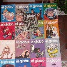 Cómics: EL GLOBO COLECCIÓN COMPLETA Y SUELTA 1 AL 21 - BURULAN - BURU LAN MUY BUEN ESTADO, VER FOTOS. Lote 209611078