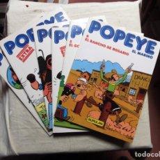 Cómics: POPEYE EL MARINO 6 TOMOS BURULAN. Lote 209706065