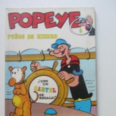 Cómics: POPEYE - PUÑOS DE HIERRO - Nº 5 - EDITORIAL BURU LAN AÑO 1970 SD01. Lote 209765558