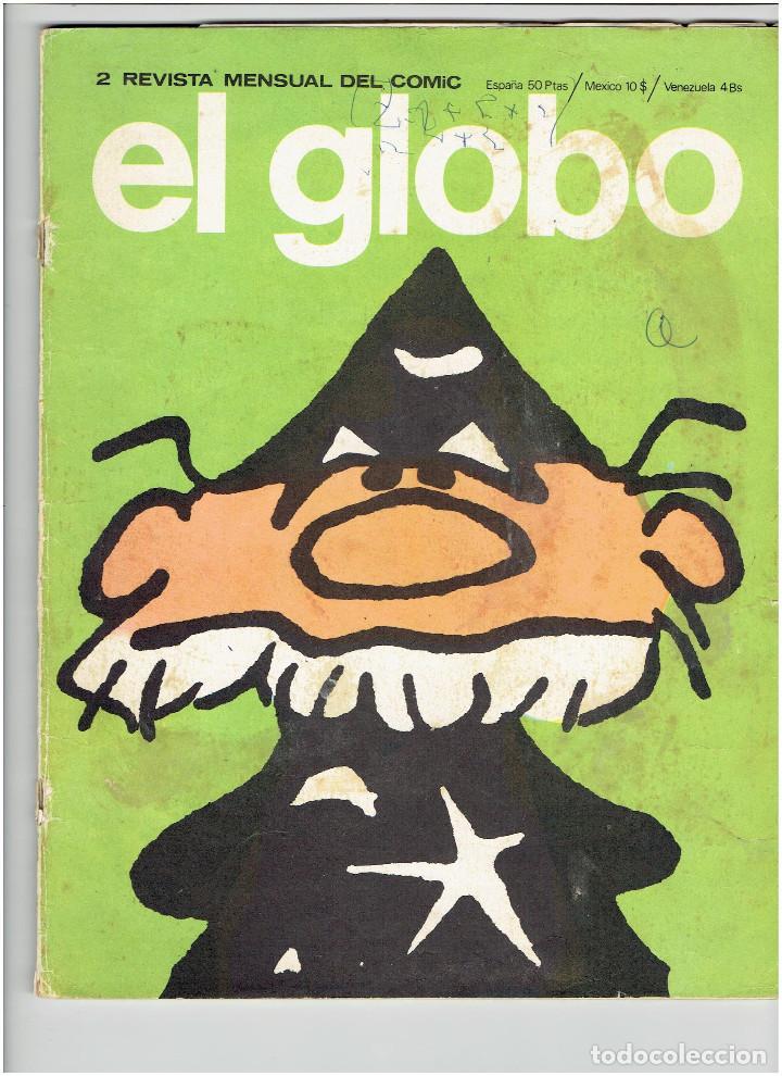 * EL GLOBO * Nº 2 * BURULAN EDICIONES 1973 * (Tebeos y Comics - Buru-Lan - Otros)