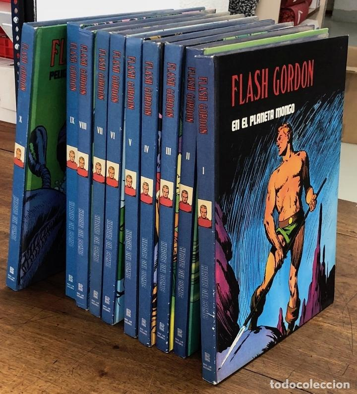 Cómics: FLASH GORDON. HEROES DEL COMIC. BURU LAN 1972. COMPLETA. 10 TOMOS. I AL X - Foto 1 - 210002627