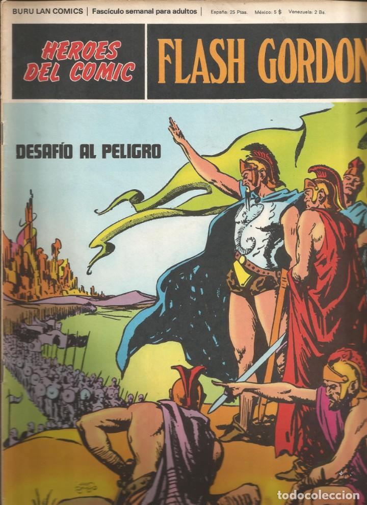 FLASH GORDON Nº 04 DESAFÍO AL PELIGRO BURU LAN AÑO 1972 (Tebeos y Comics - Buru-Lan - Flash Gordon)