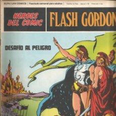 Cómics: FLASH GORDON Nº 04 DESAFÍO AL PELIGRO BURU LAN AÑO 1972. Lote 210165776