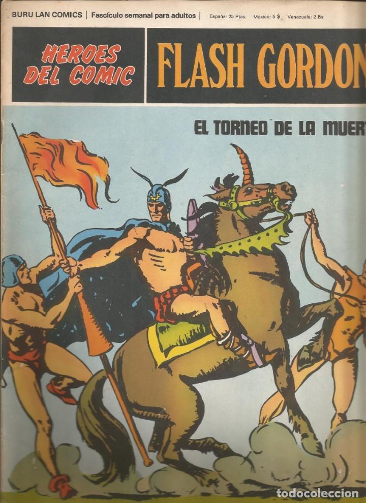 FLASH GORDON Nº 05 EL TORNEO DE LA MUERTE BURU LAN AÑO 1972 (Tebeos y Comics - Buru-Lan - Flash Gordon)