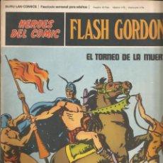 Cómics: FLASH GORDON Nº 05 EL TORNEO DE LA MUERTE BURU LAN AÑO 1972. Lote 210165842