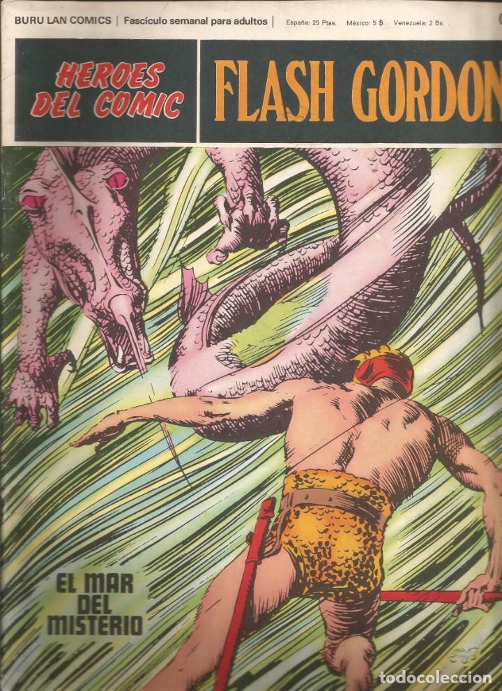 FLASH GORDON Nº 010 EL MAR DEL MISTERIO BURU LAN AÑO 1972 (Tebeos y Comics - Buru-Lan - Flash Gordon)