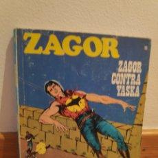 Cómics: ZAGOR CONTRA YASKA 13. Lote 243531775