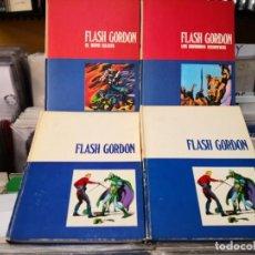 Cómics: 4 TOMOS FLASH GORDON NUM 01,02,1,2,,BURULAN. Lote 210377530
