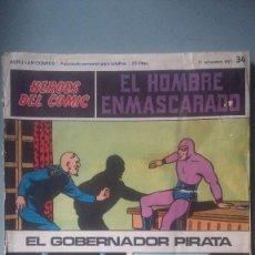 Cómics: HEROES DEL COMIC 34. Lote 210716176