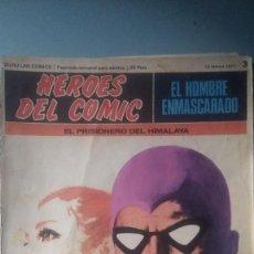 Cómics: HEROES DEL COMIC 3. Lote 210716392