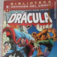 Cómics: DRACULA - Nº 3 MARV WOLFMAN - GENE COLA - PLANETA -BIBLIOTECA GRANDES DEL CÓMIC. Lote 210717841