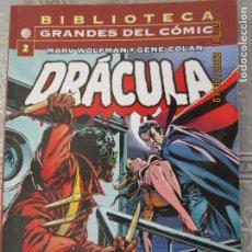 Cómics: DRACULA - Nº 2 MARV WOLFMAN - GENE COLAN - PLANETA -BIBLIOTECA GRANDES DEL CÓMIC. Lote 210718136