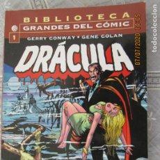 Cómics: DRACULA - Nº 1 MARV WOLFMAN - GENE COLAN - PLANETA -BIBLIOTECA GRANDES DEL CÓMIC. Lote 210718351