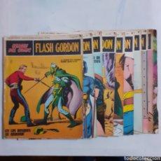 Cómics: FLASH GORDON. HEROES DEL COMIC. BURU LAN COMICS. N° 1, 2, 3, 5, 7, 8, 9, 10 Y 11+ EL TIRANO DE MONGO. Lote 211507475