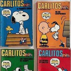 Cómics: 4 NÚM. CORRELATIVOS DE CARLITOS Y LOS CEBOLLITAS: 10 - 11 - 12- 13 [1972] FALTA CARTEL P. 63. Lote 211612124