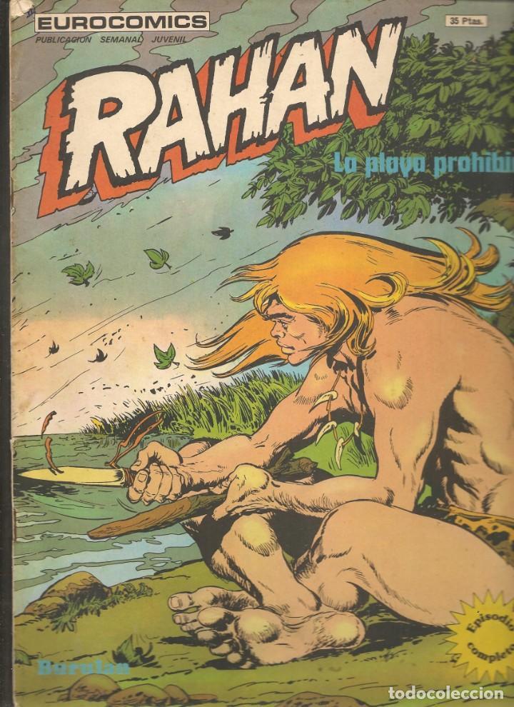 RAHAN. Nº 18. LA PLAYA PROHIBIDA. BURULAN. (P/D20) (Tebeos y Comics - Buru-Lan - Rahan)