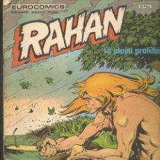 Cómics: RAHAN. Nº 18. LA PLAYA PROHIBIDA. BURULAN. (P/D20). Lote 211878166