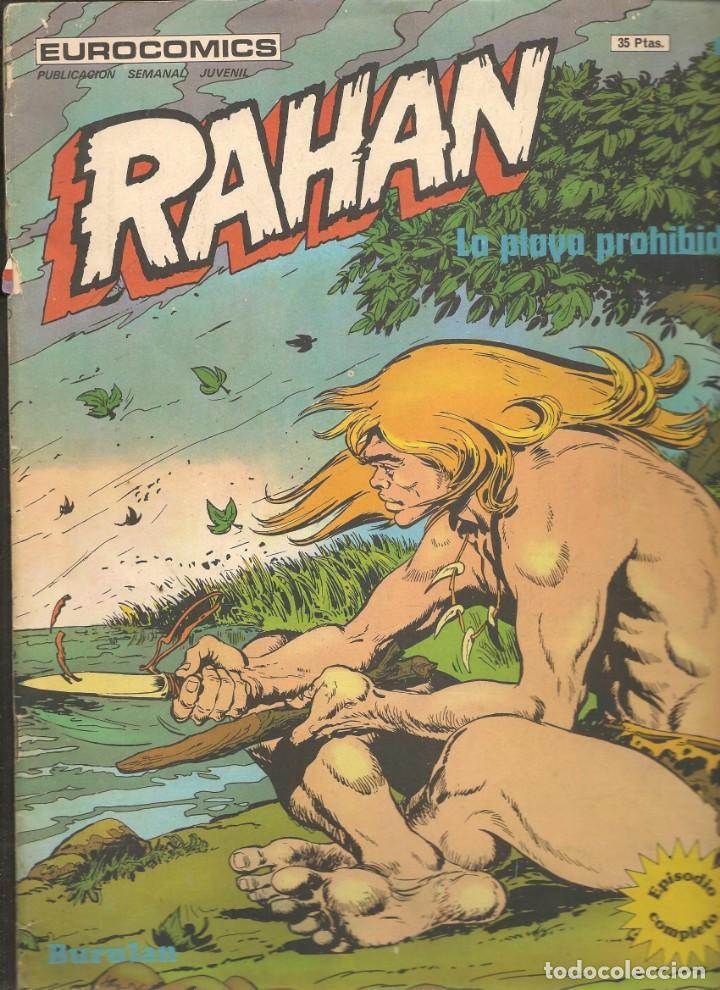 RAHAN. Nº 18. LA PLAYA PROHIBIDA. BURULAN. (C/A7) (Tebeos y Comics - Buru-Lan - Rahan)
