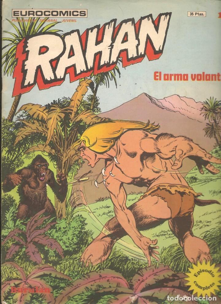 RAHAN. Nº 16. EL ARMA VOLANTE. BURULAN. (C/A7) (Tebeos y Comics - Buru-Lan - Rahan)