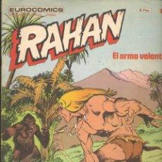 Cómics: RAHAN. Nº 16. EL ARMA VOLANTE. BURULAN. (C/A7). Lote 211878783