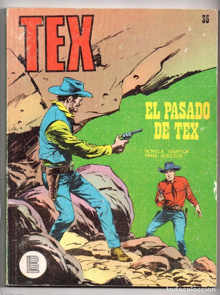 Nº 35 TEX BURU LAN , S.A. 1971 (Tebeos y Comics - Buru-Lan - Tex)