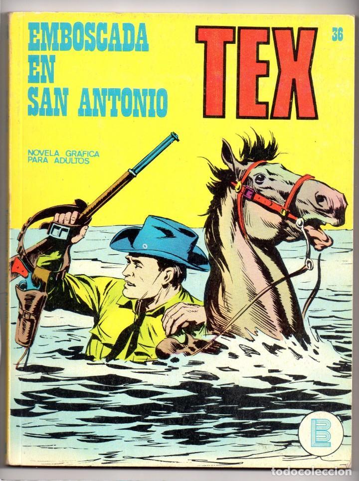 Nº 36 TEX BURU LAN , S.A. 1971 (Tebeos y Comics - Buru-Lan - Tex)