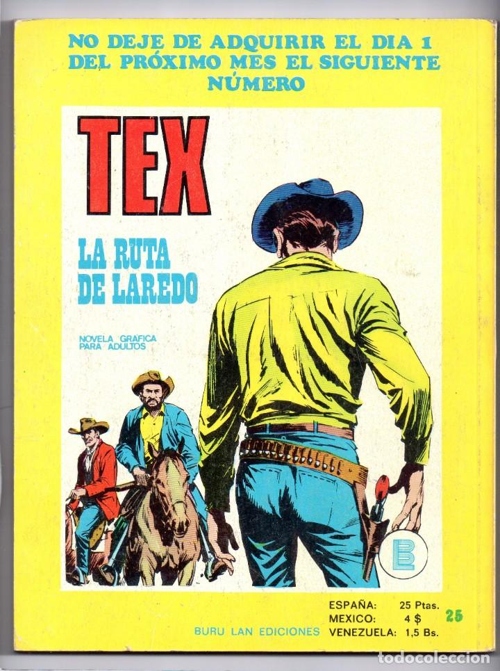 Cómics: Nº 36 TEX BURU LAN , S.A. 1971 - Foto 2 - 212005520
